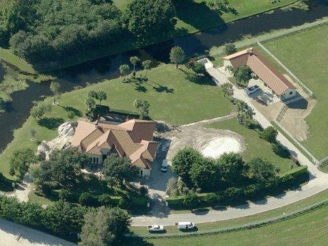 The Gates ranch. Photo: Bing Maps